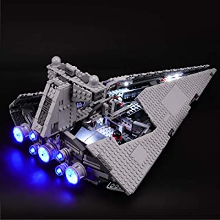 BRIKSMAX Led Lighting Kit for Star Wars Imperial Star Destroyer - Compatible with Lego 75055 Building Blocks Model- Not Include The Lego Set