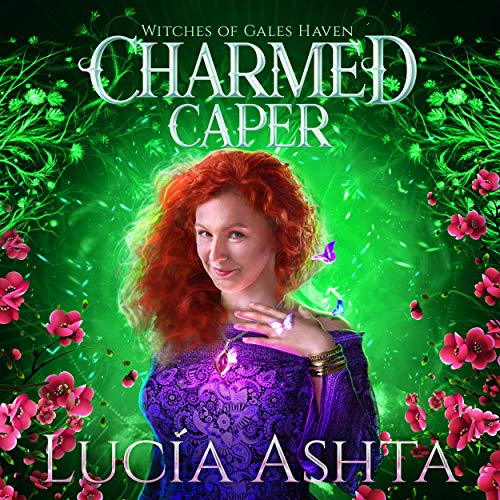 Charmed Caper (A Paranormal Women's Fiction Novel) Audiobook By Lucia Ashta cover art