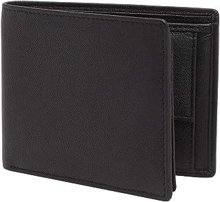 Amicraft Black Genuine Leather Wallet for Men ANA-06-BLK