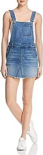 7 For All Mankind Women's Mini Skirt Overall in Desert Oasis 5
