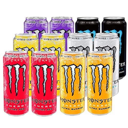 Monster Energy Ultra Mixed Pallet 12 x 500ml