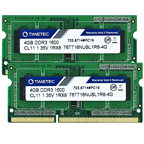 A-Tech 4GB RAM for Lenovo THINKPAD S531 DDR3 1600MHz SODIMM PC3-12800 204-Pin Non-ECC Memory Upgrade Module