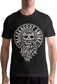 BlackBerry Smoke T Shirt Men's Casual Personality Fashion Short Sleeved Shirt