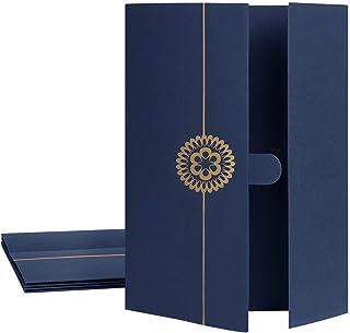 5 Pcs Couverture de Certificats Diplôme Porte-Certificats Etuis Housse en Carton épais pour Protège-documents Certificats ...