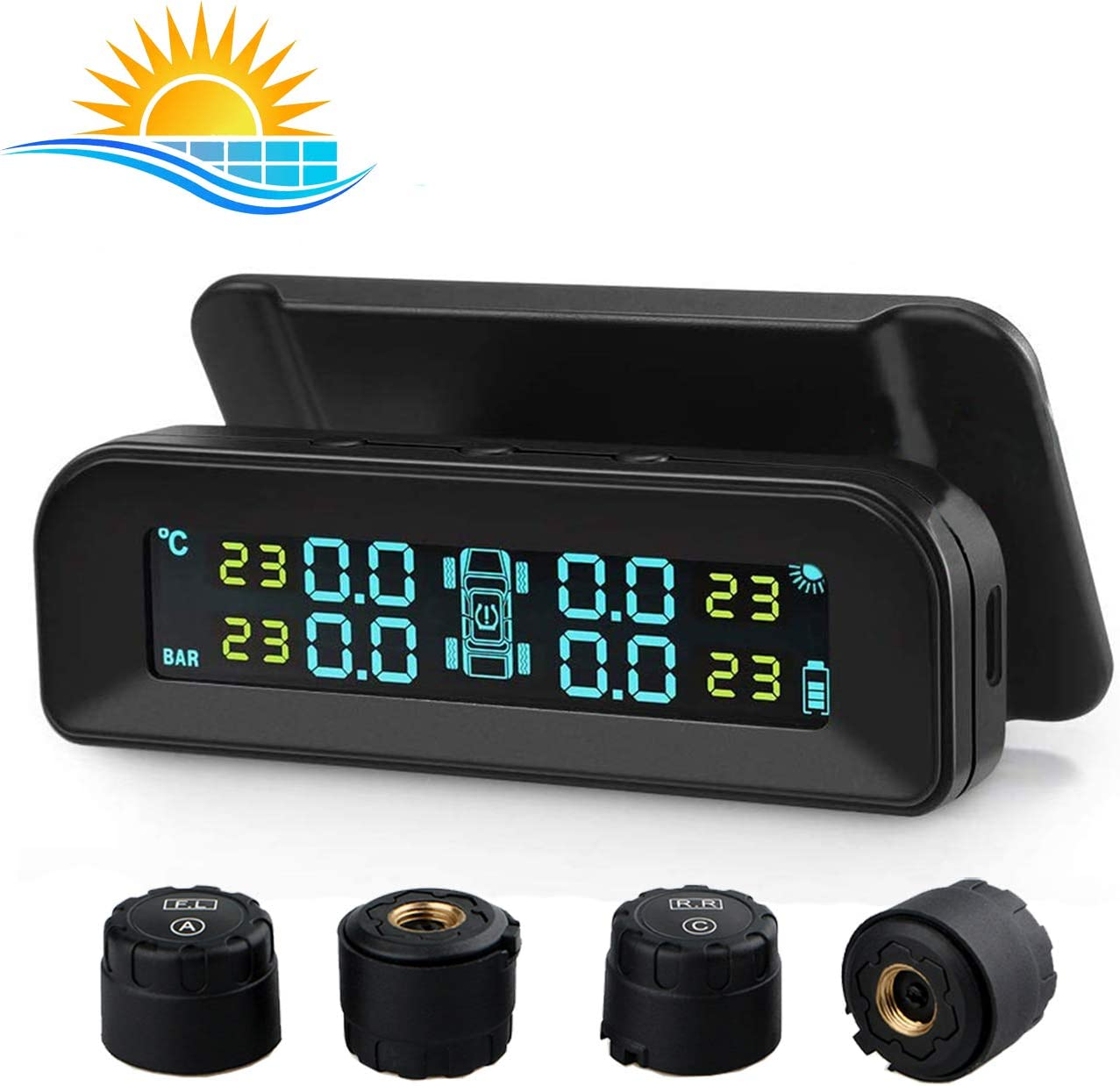 Spurtar Sale Special Price TPMS Tyre Pressure Monitoring System Solar Popular brand in the world Wirele Power