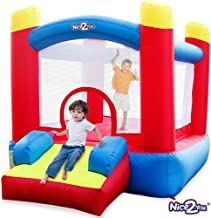 Nice2you Bounce House Indoor Outdoor Bouncy Castle Birthday Party for Kids