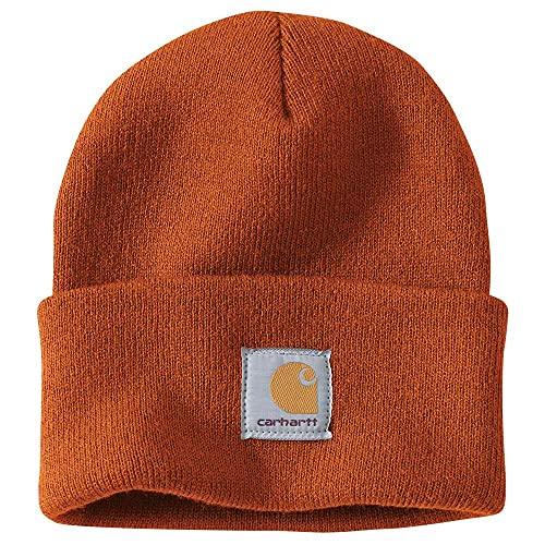 Carhartt Mens A18 elastico costine maglia acrilico orologio Beanie cappello