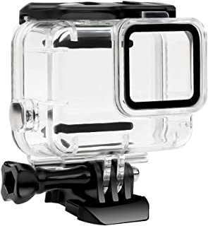 Compatible for Hero7 White/Sliver 30m Acrylic Waterproof Case Diving Protective Housing Shell