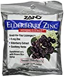 Zand Herbalozenge, Sweet Elderberry Zinc, 15 Count (Pack of 3) by Zand