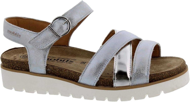 MFIISTO damskor, thiNA silver sandaler sandaler sandaler  ny notering