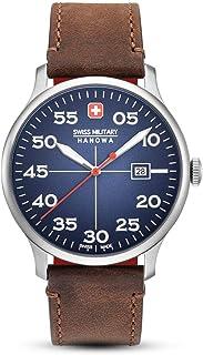 Swiss Military - Reloj Analógico para Hombre de Cuarzo con Correa en Cuero 06-4326.04.003
