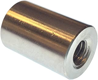0.562 Length, Zinc Plated Female 1//4-20 Screw Size Pack of 10 Lyn-Tron 0.5 OD Brass