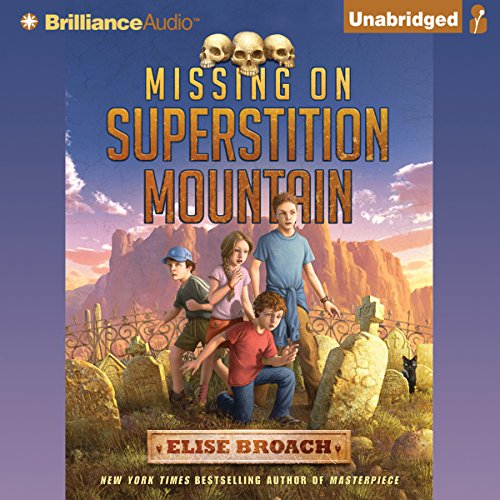 Missing on Superstition Mountain audiobook cover art