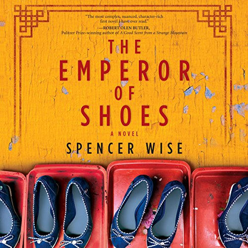 The Emperor of Shoes audiobook cover art