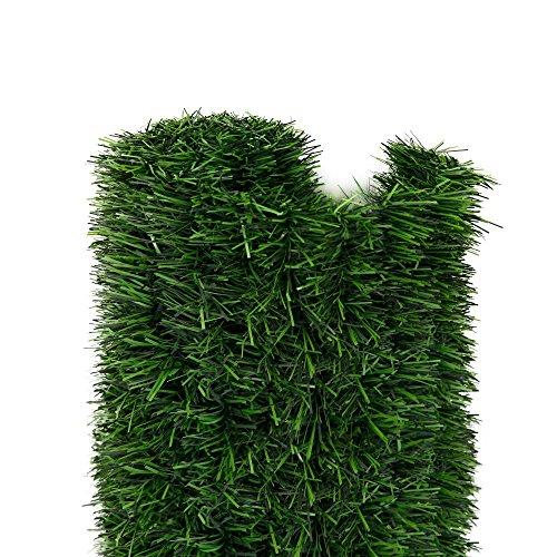 Jarolift Estera arbusto seto Artificial para Balcones terrazas y Jardines, 1 x 3m