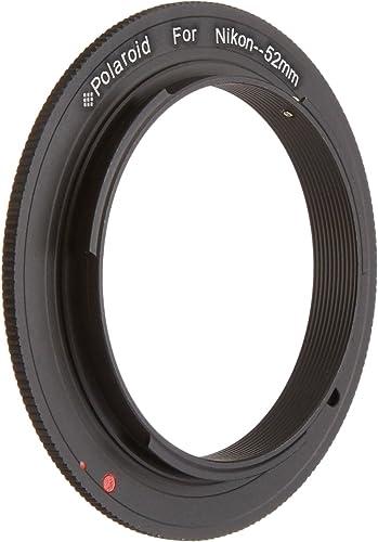 popular Polaroid 52mm Filter Thread Lens, Macro Reverse Ring Camera Mount Adapter For The Nikon D40, D40x, D50, high quality D60, D70, D80, outlet sale D90, D100, D200, D300, D3, D3S, D700, D3000, D5000, D3100, D7000, D5100, D3200, D600, D4, D800, D800E Digital SLR Cameras online