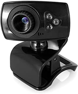 USB Computer Webcam with Microphone, USB 2.0 480P PC Desktop Laptop Web Camera for Video Conferencing, Calling