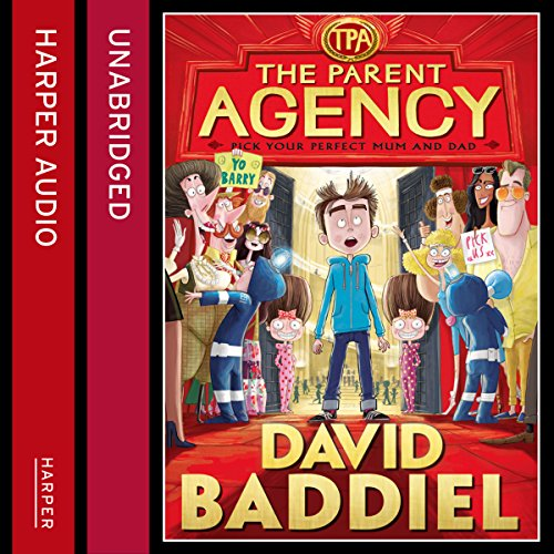 The Parent Agency audiobook cover art