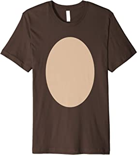 Halloween DEER Chest Costume Kids Reindeer Belly Costume Premium T-Shirt