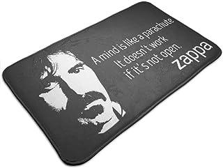 HUTTGIGH Frank Zappa - Alfombrilla antideslizante para puerta de entrada, alfombra de baño, alfombra de cocina, alfombra d...