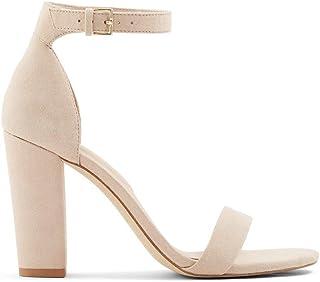 ALDO Women's Jerayclya Ankle Strap, Block Heel Sandal