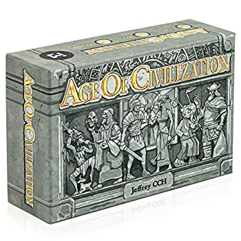 ICE MAKES Age of Civilization Strategy Card Game Board Games Pocket Travel and Family Friendly 1-4 Players Board Game Adventure and Brain Teaser