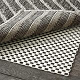 Grip Master 2X Extra Thick Area Rug Pad Grippers, 6 x 9 Feet, Cushioned for Hard Surface Floors,...