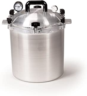 All American 925 Canner Pressure Cooker, 25 qt, Silver