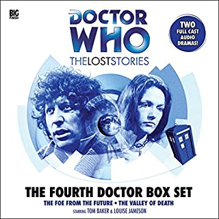 Doctor Who - The Lost Stories - The Fourth Doctor Box Set                   By:                                                                                                                                 Robert Banks Stewart,                                                                                        Philip Hinchcliffe,                                                                                        John Dorney,                   and others                          Narrated by:                                                                                                                                 Tom Baker,                                                                                        Louise Jameson,                                                                                        Paul Freeman                      Length: 6 hrs and 13 mins     128 ratings     Overall 4.6