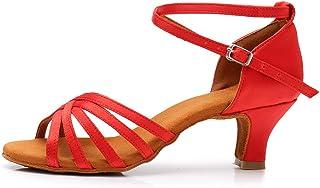 5ad39aed SWDZM Mujer Zapatos de Baile/Estándar de Zapatos de Baile Latino Satén  Ballroom modelo-