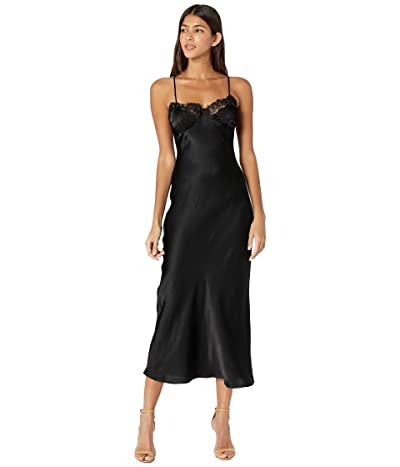 Bardot Lace Midi Slip Dress