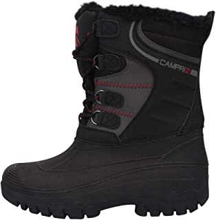 Campri Mens Snow Boots Lace Up Waterproof Warm