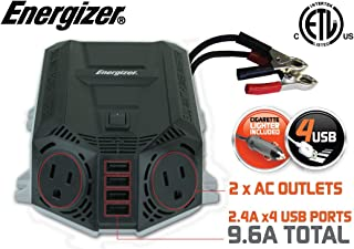 Energizer 500 Watt Power Inverter 12V DC to AC  4 x 2.4A USB Charging Ports Total 9.6A 500W Unidad de Fuente de alimentación