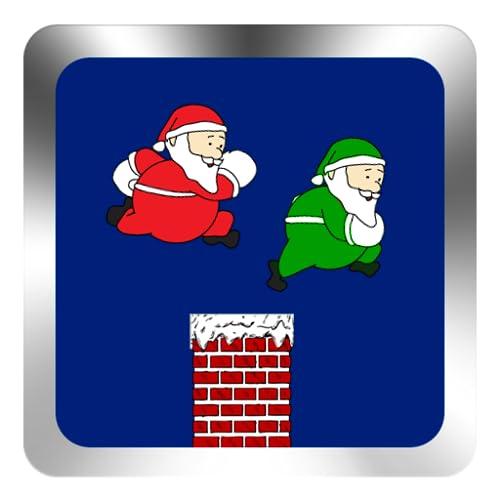 Weihnachtsmann Kamin Hurden