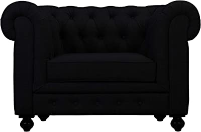 Amazon.com: Diamond Sofa Cordoba Tufted Lounge Chair in ...