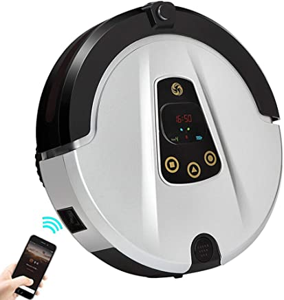 Julitech Robot Vacuum Cleaner with HD Camera, 180 ML Water Tank, Automatic Cleaning Robot