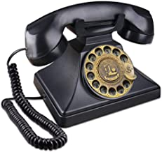 Sponsored Ad - EC VISION Rotary Phones for Landline, Retro Landline Telephone Old Fashion Home Phones with Mechanical Ring... photo