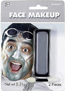 Silver Amscan 395805.18 Cream Non Toxic Face Makeup