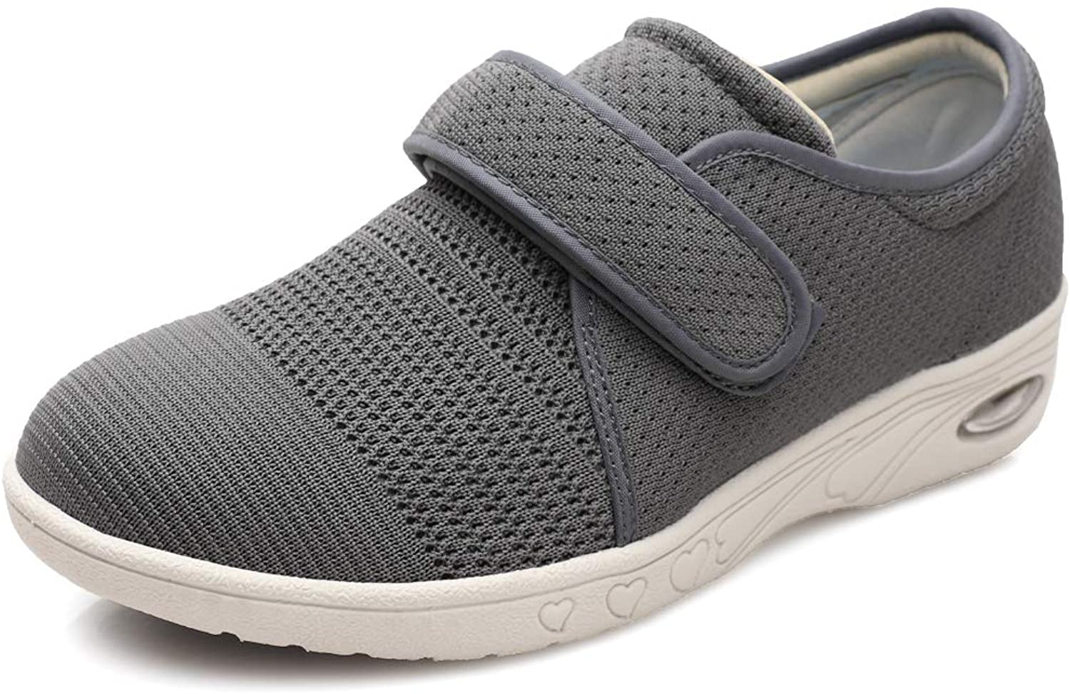 Youyun Women's SEAL limited product Diabetic Shoes for Women Adjustable Ranking TOP17 Casual Velcro