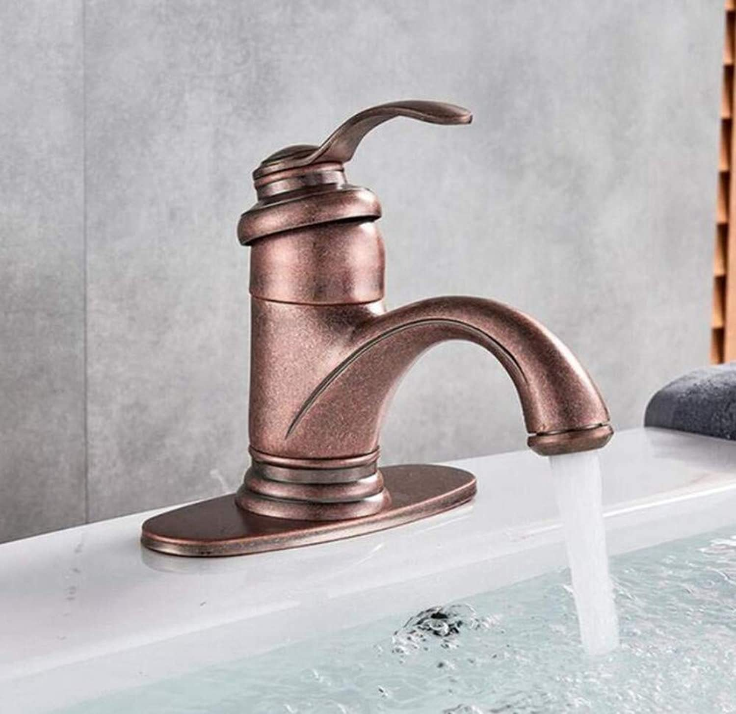 Brass Wall Faucet Chrome Brass Faucethandle Mixer Tap Solid Brass Hot and Cold Water