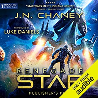 Renegade Star                   By:                                                                                                                                 JN Chaney                               Narrated by:                                                                                                                                 Luke Daniels                      Length: 11 hrs and 38 mins     991 ratings     Overall 4.5