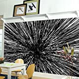 RoomMates RMK11412M Hyper Space Peel and Stick Wallpaper Mural - 10.5 ft. x 6 ft.