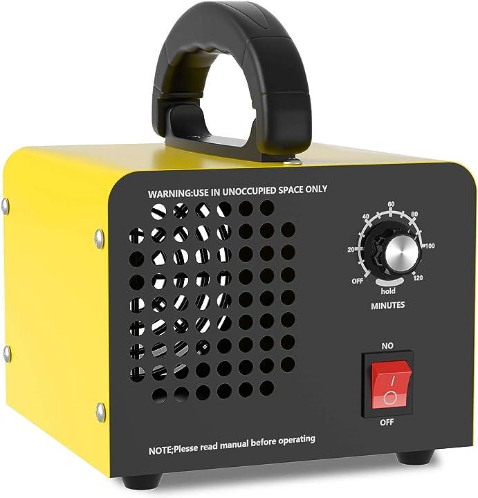 Purificatore d`aria generatore di ozono 10.000mg/h quared ozonizzatore /deodorante per camere da letto quared B08GLTVR9V