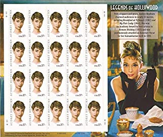 US Stamp - 2003 Audrey Hepburn - 20 Stamp Sheet - Scott #3786