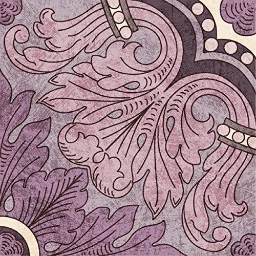 Pegatinas para azulejos de cocina y baño, diseño floral holandés