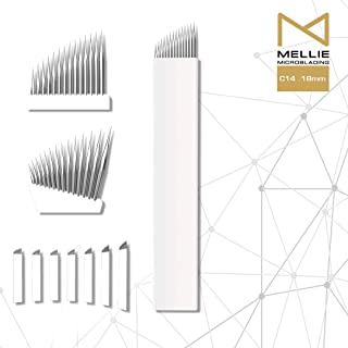 Mellie Microblading C14 Microblading Needle Blade 25 pcs - Classic 14 Pins .18mm