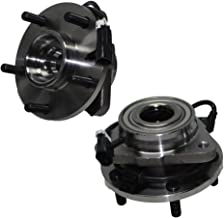 Detroit Axle - Pair Front Wheel Hub and Bearing Assemblies for 2WD 98-05 Jimmy and Blazer