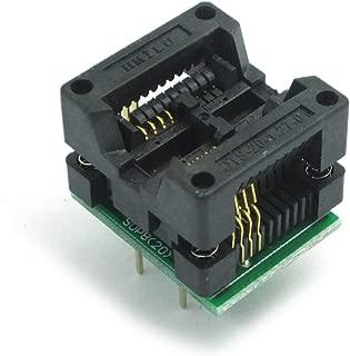 WINGONEER 200-208mils SOP8 to DIP8 IC Socket Adapter Socket OTS-20-1.27-01 for 25xx eeprom Flash