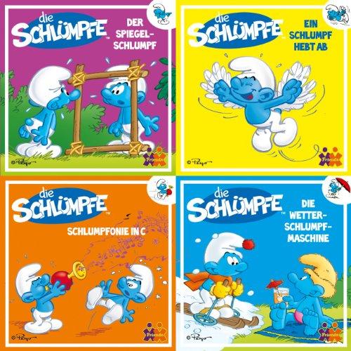 Mini-Bücher Die Schlümpfe 9-12 (4er-Set)