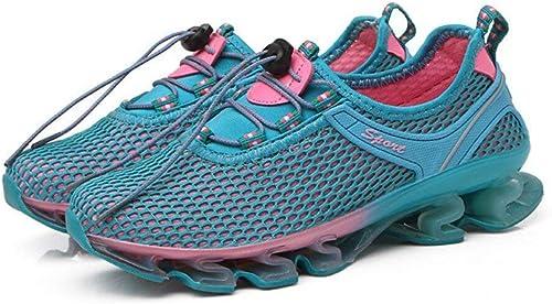 paniers pour Les dames, chaussures de marche en plein air, chaussures de sport en mesh, chaussures de course, chaussures à séchage rapide, chaussures de sport légères, confortable, parfait pour l'été (cou